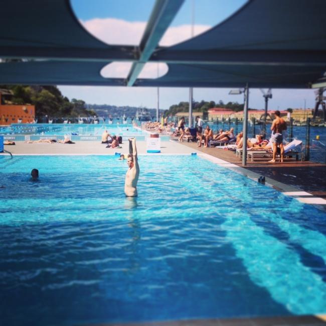 sydney swimming pool, boy charlton