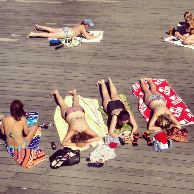 hanover sunbath
