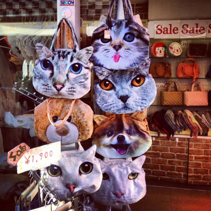 japan cat bags