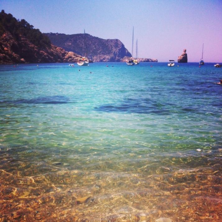 Swimming for Spain, my fav, Benirras Beach