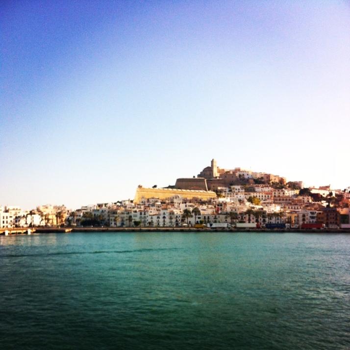 Ibiza Town. Beautiful, but keep driving people
