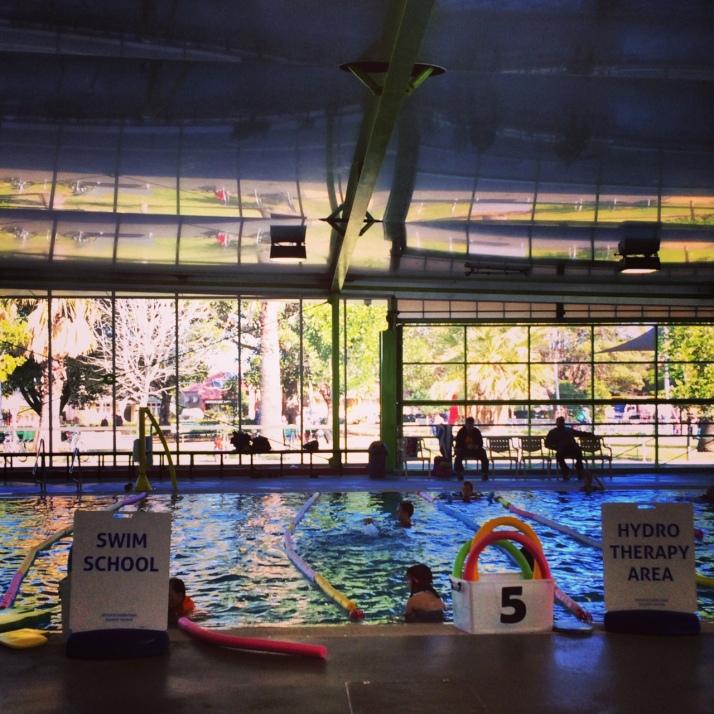 The mermaid swim school