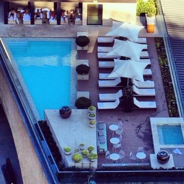 Sydney hotel pool