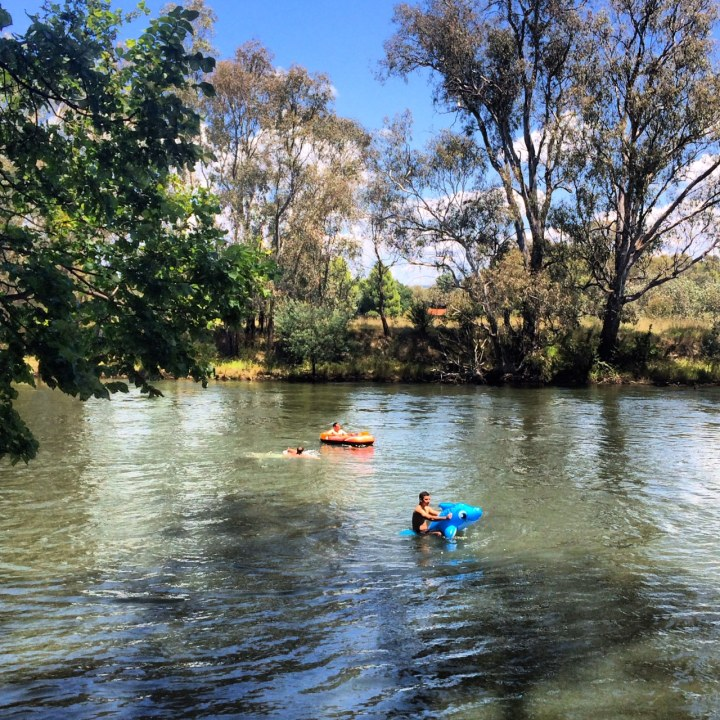 albury river float