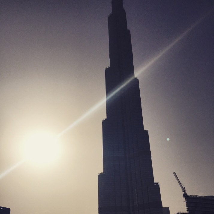 Wrapping paper in the sky - the big Burj